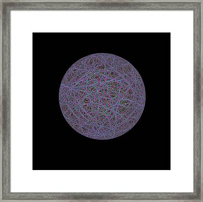 Quantum Waves Framed Print by Eric Heller