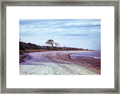 Quiet Cove  Framed Print by Phill Doherty