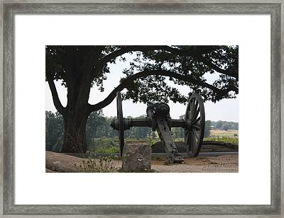 Quiet Ridge Framed Print