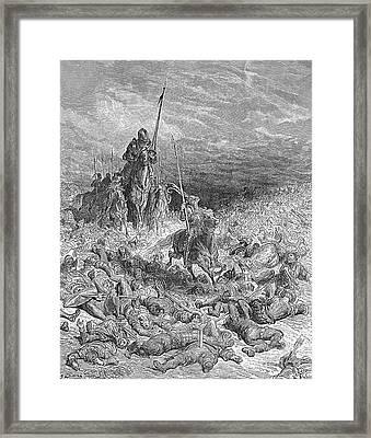 Rabelais: Gargantua Framed Print by Granger