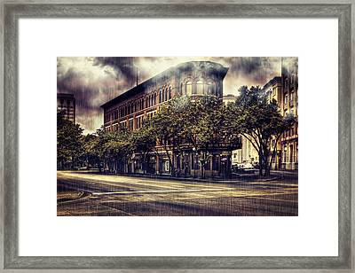 Rain Down On Me Framed Print