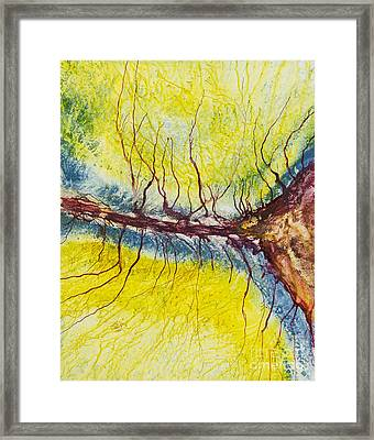 Raindrops To Rivers 15 Framed Print by David W Coffin