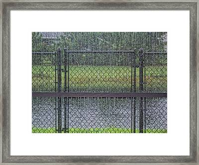 Rainy Day Framed Print by Marilyn Atwell