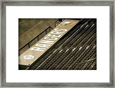 Rangers Framed Print by Malania Hammer