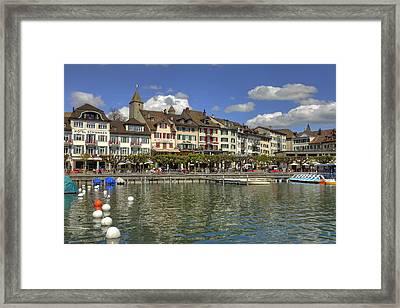 Rapperswil Framed Print by Joana Kruse