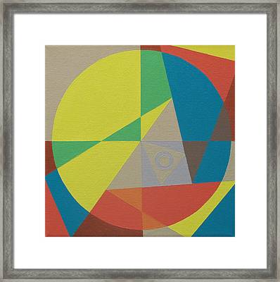 Rational Exuberance Framed Print
