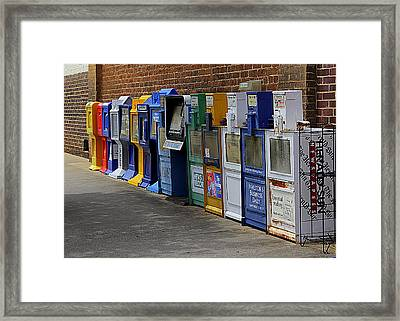 Read All About It Framed Print by Bob Whitt