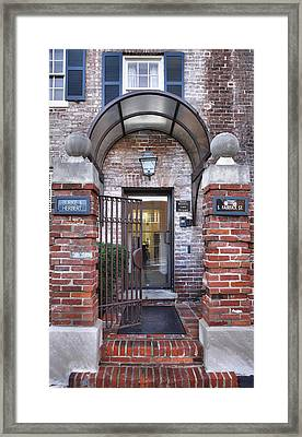 Rear View Framed Print by Steven Ainsworth