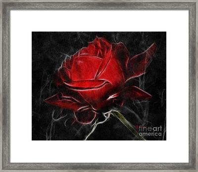 Red Hot Framed Print