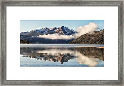 Redfish Lake Framed Print by Lisa Kidd