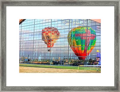 Reflections Framed Print by Allen Sindlinger