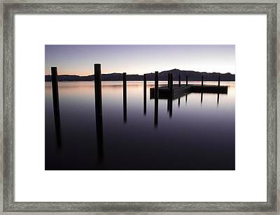 Reflective Thoughts Framed Print by Brad Scott
