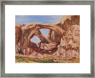Refuge Framed Print