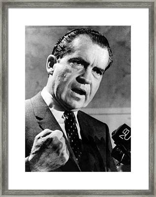 Republican Presidential Candidate Framed Print by Everett