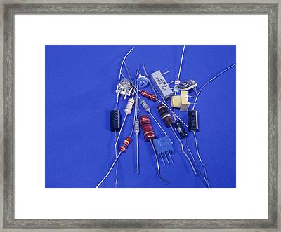 Resistors Framed Print by Andrew Lambert Photography
