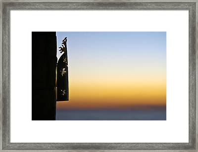 Restaurant Of Ankasy Lodge & Spa Framed Print by Pierre-Yves Babelon