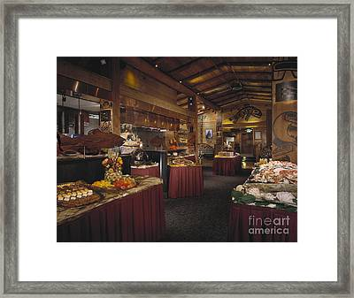 Restaurant Framed Print