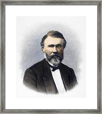 Richard Jordan Gatling Framed Print by Granger