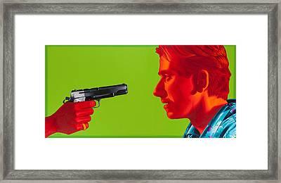 Ringo Framed Print by Ellen Patton