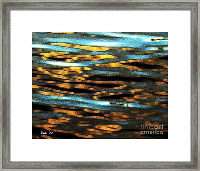 Ripples Framed Print by Dale   Ford