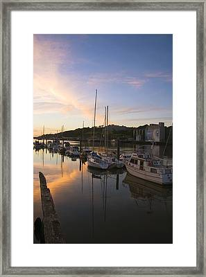 River Suir, From Millenium Plaza Framed Print by The Irish Image Collection