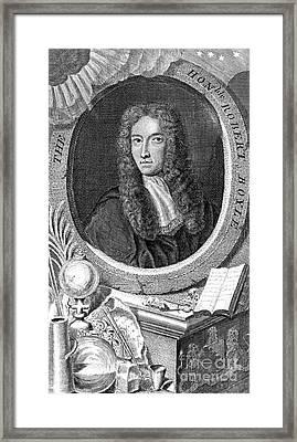 Robert Boyle, British Chemist Framed Print by Science Source