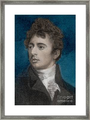 Robert Southey, English Poet Laureate Framed Print by Photo Researchers