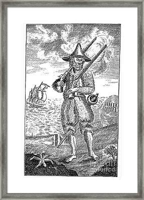 Robinson Crusoe Framed Print by Granger