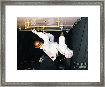 Robonaut Framed Print by NASA / Science Source