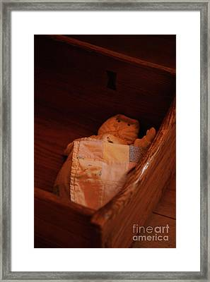 Framed Print featuring the photograph Rock-a-bye My Baby by Linda Shafer