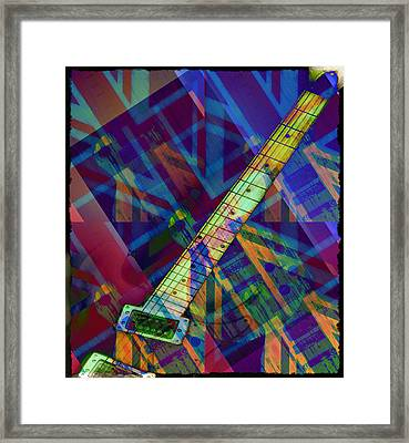 Rock And Roll Framed Print by Bill Cannon