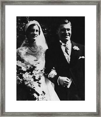 Rockefeller Family. Mary Clark Framed Print by Everett
