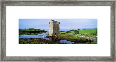 Rockfleet Castle, Clew Bay, Co Mayo Framed Print by The Irish Image Collection