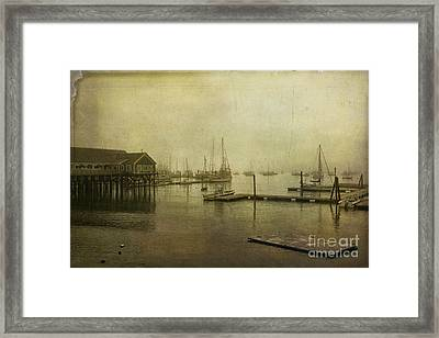 Rockland Harbor Framed Print