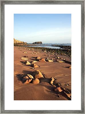 Rocks Framed Print by Svetlana Sewell