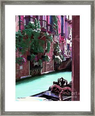Romantic Venice Framed Print
