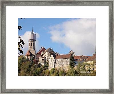 Rottweil Germany Framed Print by Ingrid Cotey