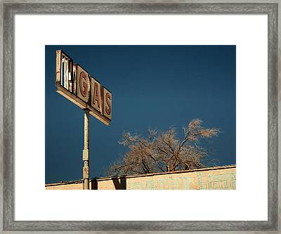 Route 66 Framed Print by Aurica Voss