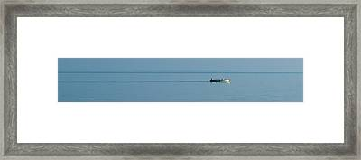 Row Porty Row Framed Print