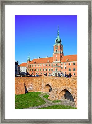 Royal Castle In Warsaw Framed Print by Artur Bogacki
