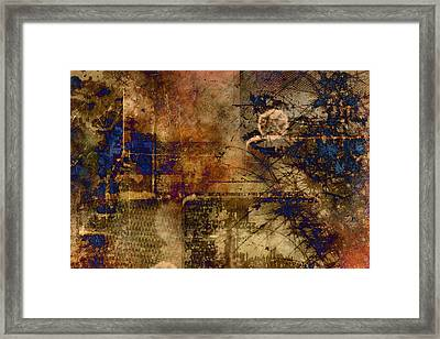 Royal Gold Framed Print by Christopher Gaston