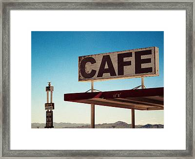Roy's Cafe Framed Print by Aurica Voss
