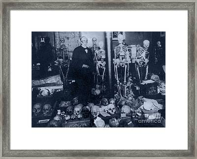 Rudolph Virchow, German Pathologist Framed Print by Science Source