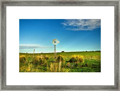 Rural Australia Framed Print by Imagevixen Photography