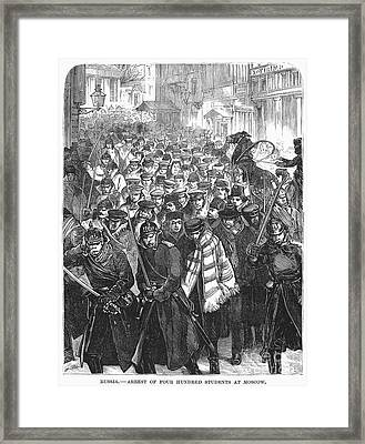 Russia: Moscow, 1881 Framed Print by Granger