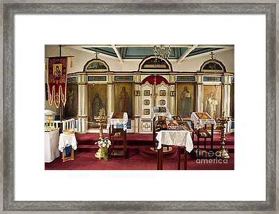 Russian Orthodox Church Framed Print by John Greim