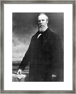 Rutherford B. Hayes 1822-1893 , U.s Framed Print by Everett
