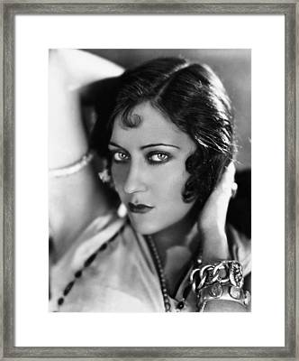 Sadie Thompson, Gloria Swanson, 1928 Framed Print by Everett