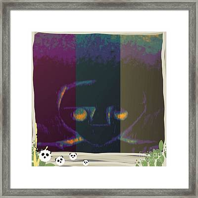 Sadness Or Not Framed Print by Holley Jacobs