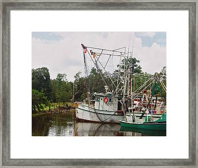 Safe Harbor Lil Arthur Framed Print by Michael Thomas